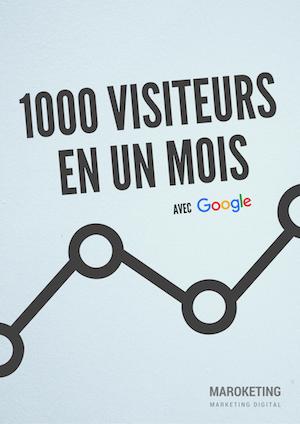 1000 visiteurs en un mois
